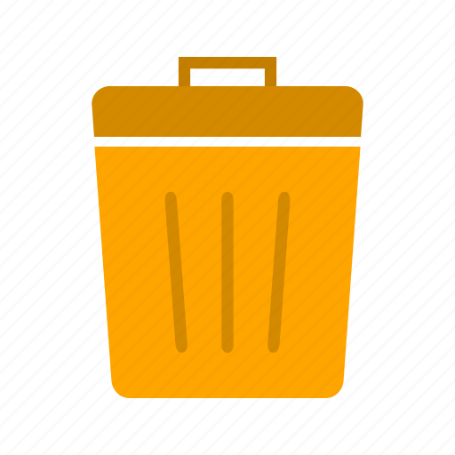 bin, delete, dustbin, recycle bin, remove, trash icon