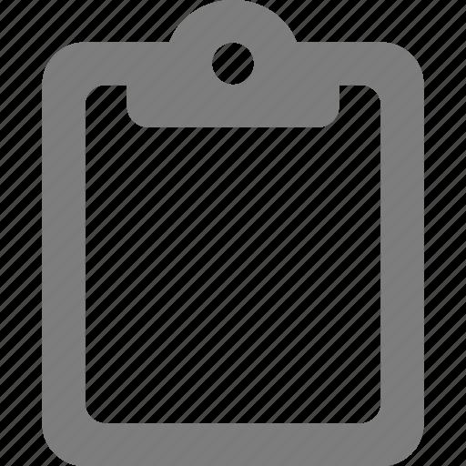 board, clip, clipboard icon