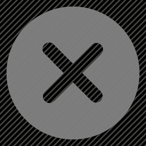 danger, delete, error, problem, remove, stop icon