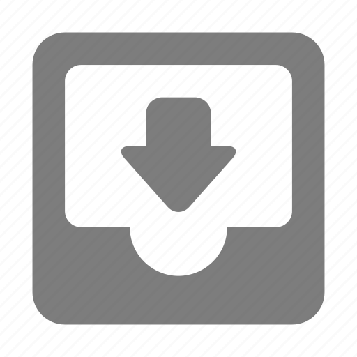 box, filing, inbox, letter, mail, shelf, tray icon