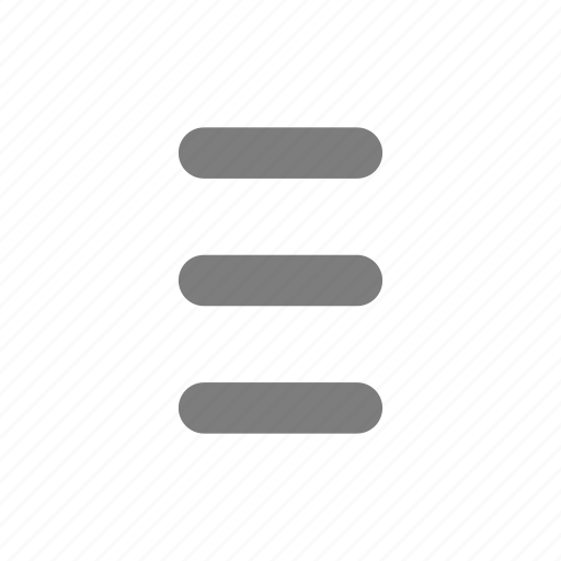 article, burger, hide, lines, menu, navigation, rows icon