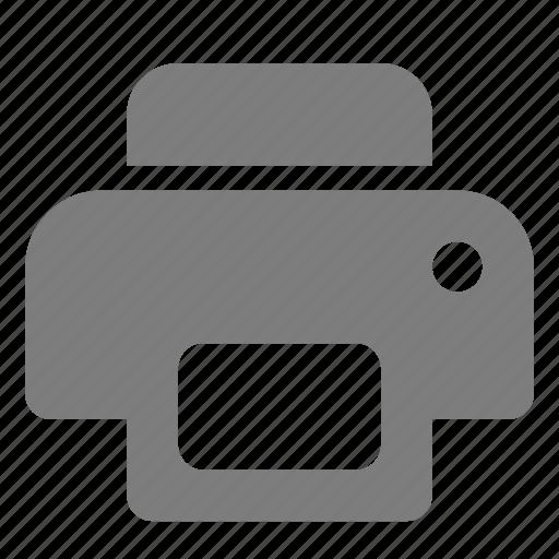 copy, fax, printer, scan icon