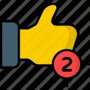 like, notification, like notification, comment, favorite, feedback