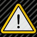 warning, alert, attention, error, message