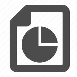 business, chart, document, file, graph, pie chart, report icon