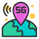 network, communication, internet, connection, 5g, location 5g, maps