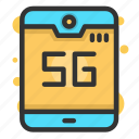 technology, network, communication, internet, connection, 5g, smartphone 5g