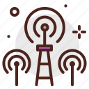 cell, device, electronic, signal, technology, tower icon