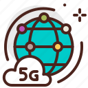 connection, device, electronic, global, signal, technology icon