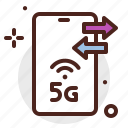 device, electronic, phone, signal, technology icon