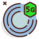 device, electronic, scan, signal, technology icon