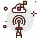 device, electronic, signal, technology icon