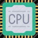 cpu, tech, iot, chip, computer icon