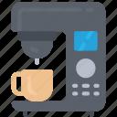 coffee, machine, tech, iot, maker, espresso icon