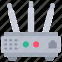 router, tech, iot, wifi, wireless icon