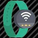 smart, watch, tech, iot, wireless icon