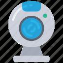 web, cam, tech, iot, camera, video icon