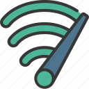 fast, wifi, wireless, signal, strength icon