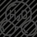 water, h2o, molecule, chemistry, science