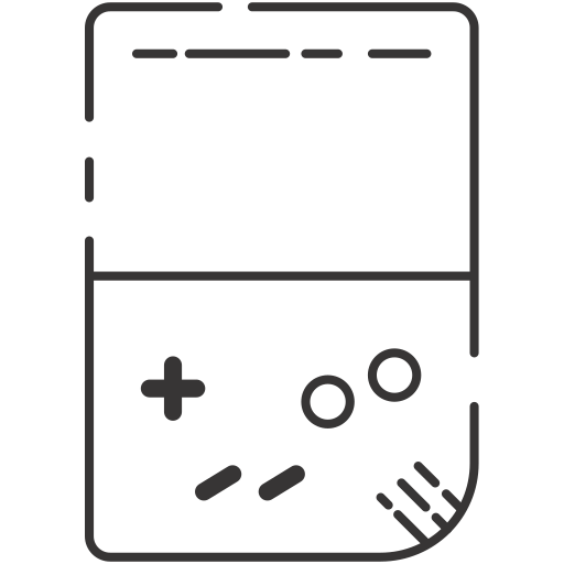 game watch, gameboy, video game icon