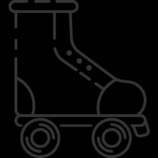 Inline skate, roller skate, skating shoe icon - Free download