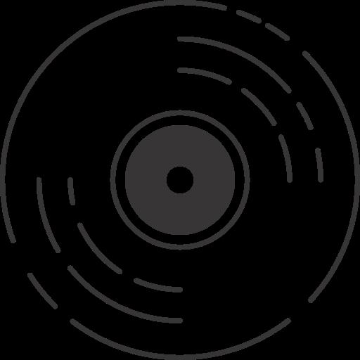 Gramaphone, turntable, vintage, vinyl icon - Free download