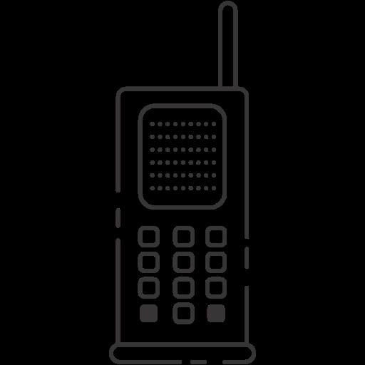 cellphone, telephone, vintage icon