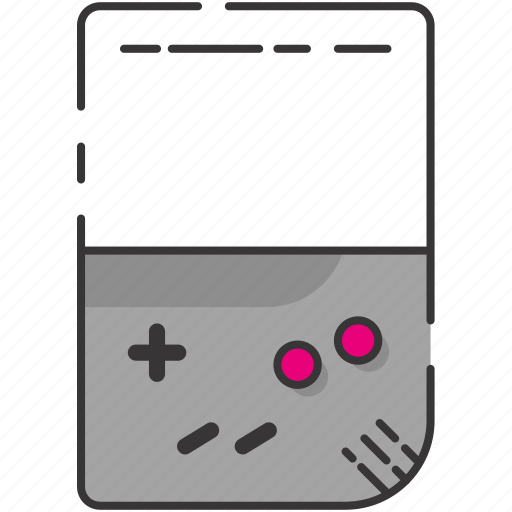 game watch, gameboy, retro, video game, vintage icon