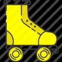 skating, inline skate, roller skate, retro, vintage