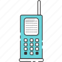 classic, phonecell, retro, smartphone, vintage icon