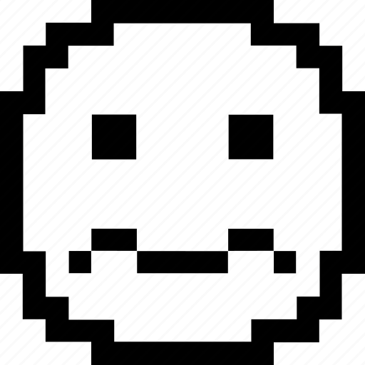 8bit Pixel Art Smiley Faces Emojis By Wan Yi Koh