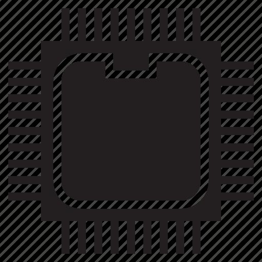 chip, computer hardware, cpu, processor icon