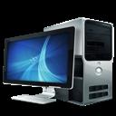 computer, desktop computer icon