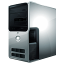 computer, tower icon