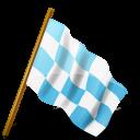 azure, chequeredflag, mapmarker, right