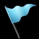 azure, flag, mapmarker icon