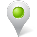 chartreuse, inside, mapmarker, marker icon