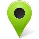 chartreuse, mapmarker, marker, outside icon
