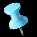 azure, left, mapmarker, pushpin icon