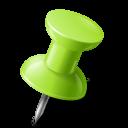 chartreuse, mapmarker, pushpin, right