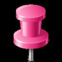 mapmarker, pink, pushpin