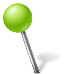 ball, chartreuse, left, mapmarker icon