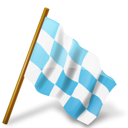 azure, chequeredflag, mapmarker, right icon