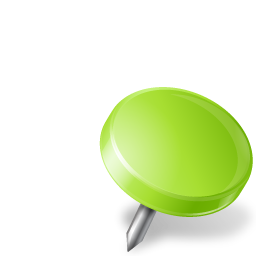 chartreuse, drawingpin, mapmarker, right icon