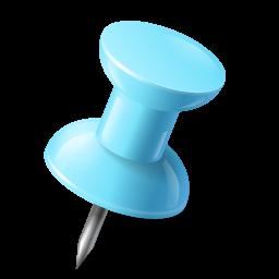 azure, mapmarker, pushpin, right icon