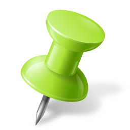 chartreuse, mapmarker, pushpin, right icon
