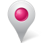 inside, mapmarker, marker, pink icon
