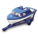 boat, trailer icon