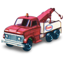ford, heavy, truck, wreck icon
