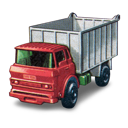 gmc, tipper, truck icon